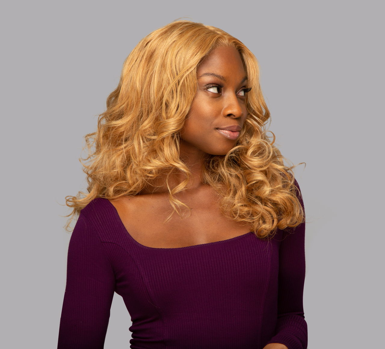 Loose Wave #27 Dark Blonde Bundles Mayvenn