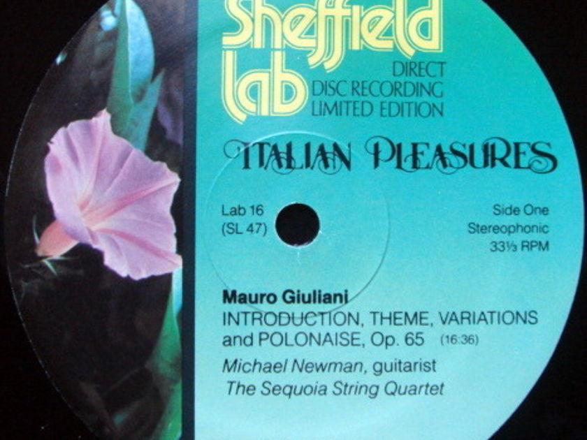 ★Audiophile★ Sheffield Lab / NEWMAN, - Italian Pleasure, MINT!