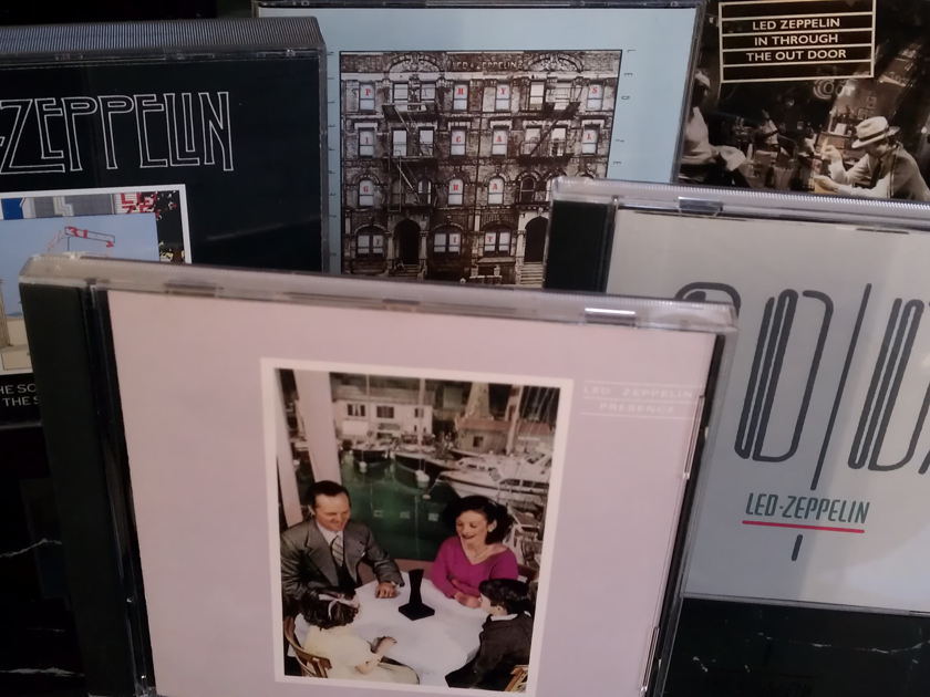 LED ZEPPELIN - CDS 6 - 10 OUT OF PRINT