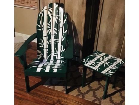 Adirondack Chair & Table