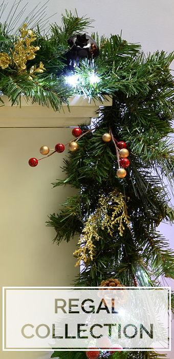 Regal Wreaths and Garlands