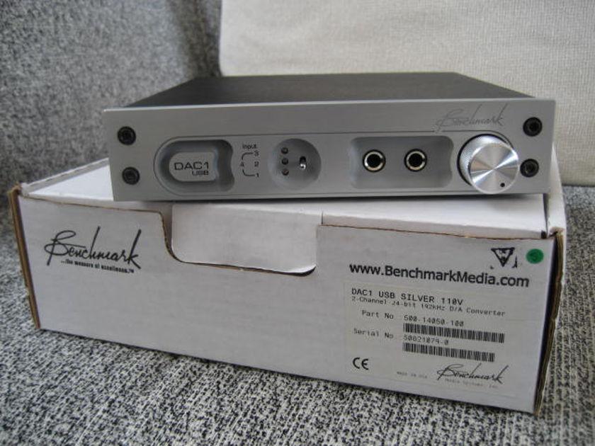 Benchmark DAC1 USB Silver
