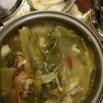 Sour Mustard Greens Stew/ Choy Buai(酸辣菜尾)