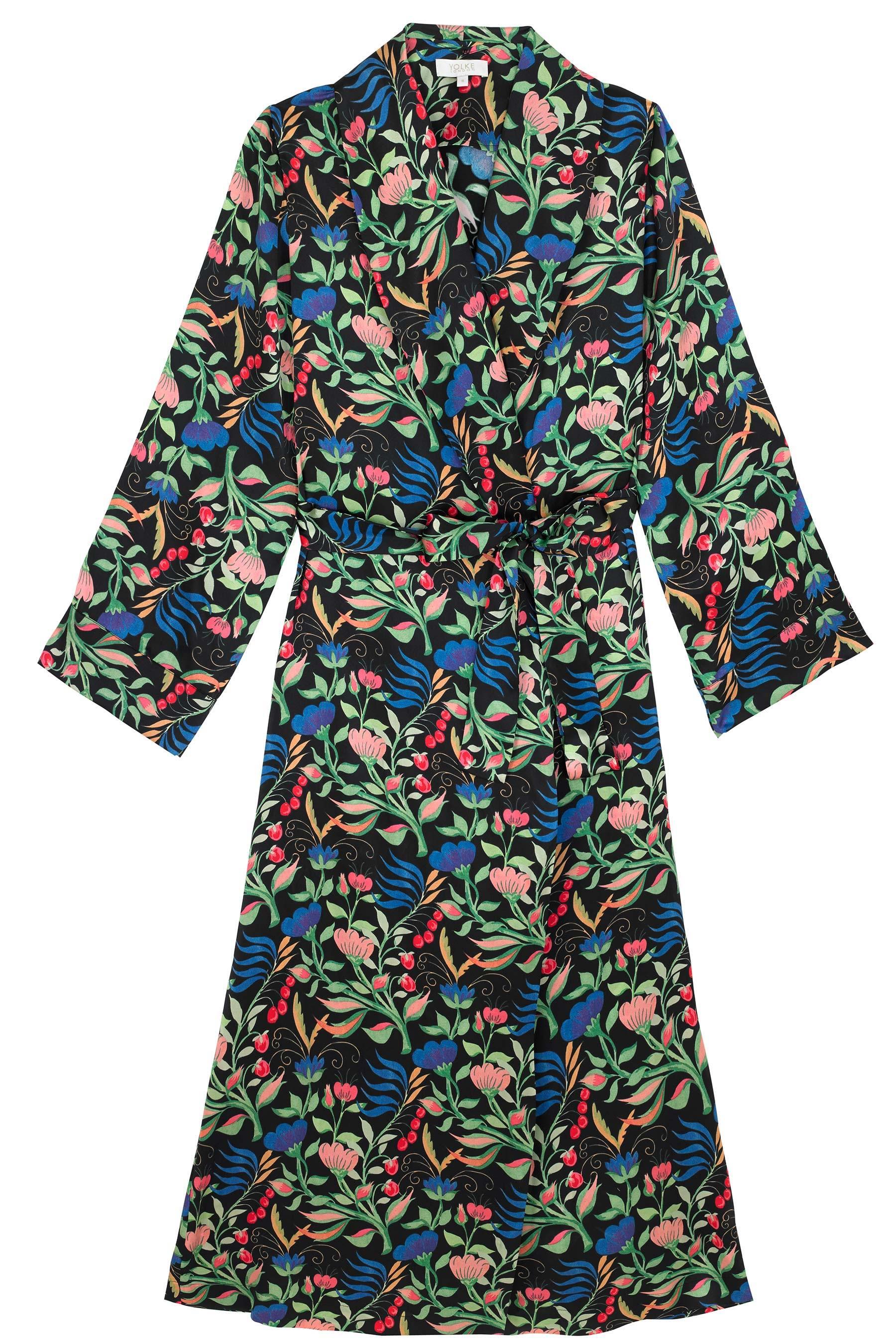 YOLKE Silk Pyjama Sets | Dakota Meadow Classic Silk Set