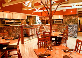 Stone Creek Dining Company private dining room
