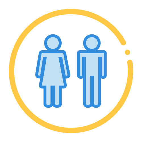 universal gender fit icon