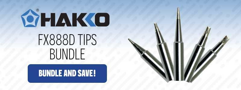 Hakko FX888D Tips Bundle