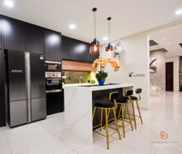 reliable-one-stop-design-renovation-classic-malaysia-selangor-dining-room-dry-kitchen-interior-design