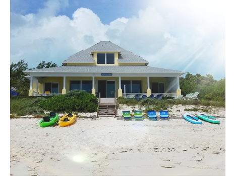 One week at Belle Mer cottage on Great Exuma, the Bahamas