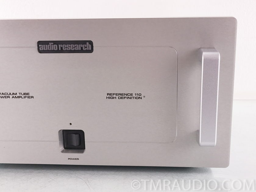 Audio Research Reference 110 Tube Stereo Power Amplifier (2522)