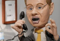 bester geburtstagde trickfilmland studio tour knete büro telefon mann