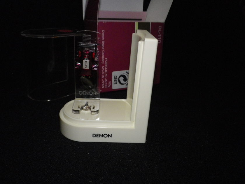 DENON  DL-110 Moving Coil, High Output  only 50 hours use