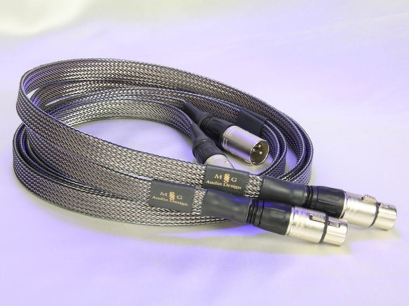MG Audio Design Planus III full interconnect loom XLR/RCA