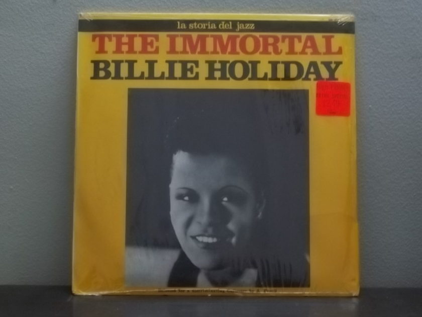 The Immortal BILLIE HOLIDAY - la storia del jazz sm 3131 Still Sealed lp
