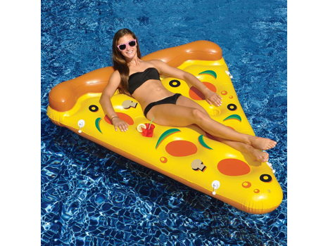 Inflatable Pizza Pool Float