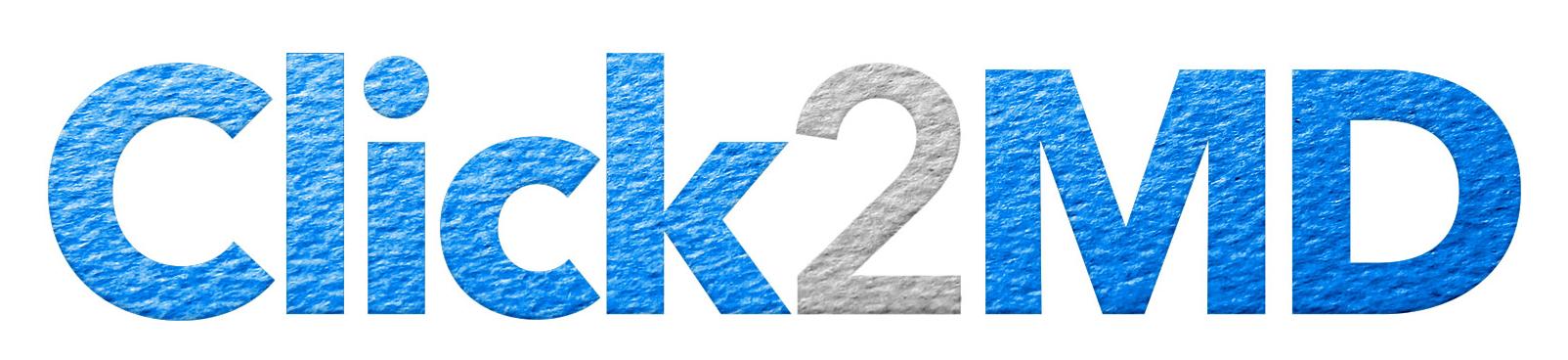 Click2md   no whitespace logo