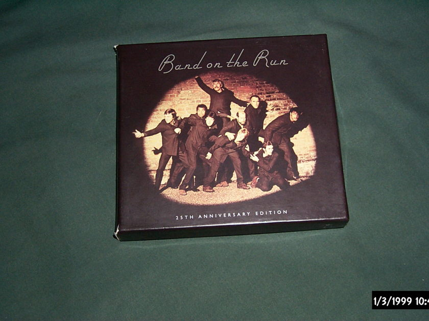 Paul Mccartney/Wings - Band On The Run 2 disc set nm