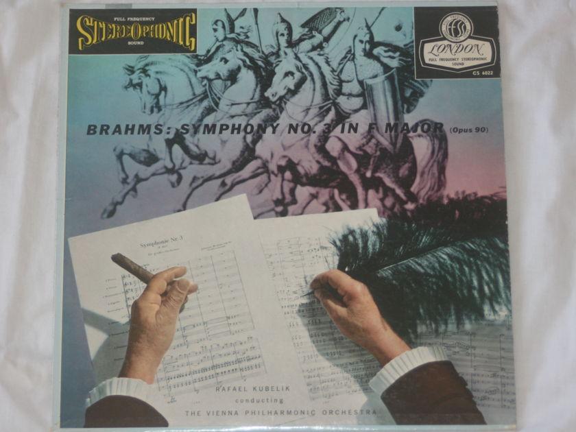 Rafael Kubelik - Brahms: Symphony No. 3 London Blueback CS 6022