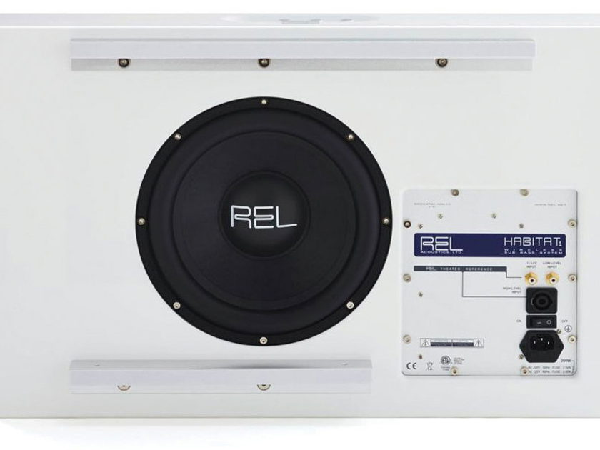 REL Acoustics Habitat 1 BRAND NEW -- new low price to sell