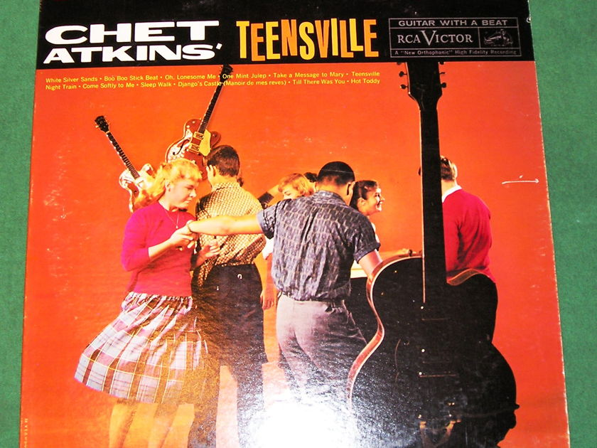 "CHET ATKINS  ""TEENSVILLE"" - 1960 RCA BLACK DOG - DEEP GROOVE ***NM 9/10***"