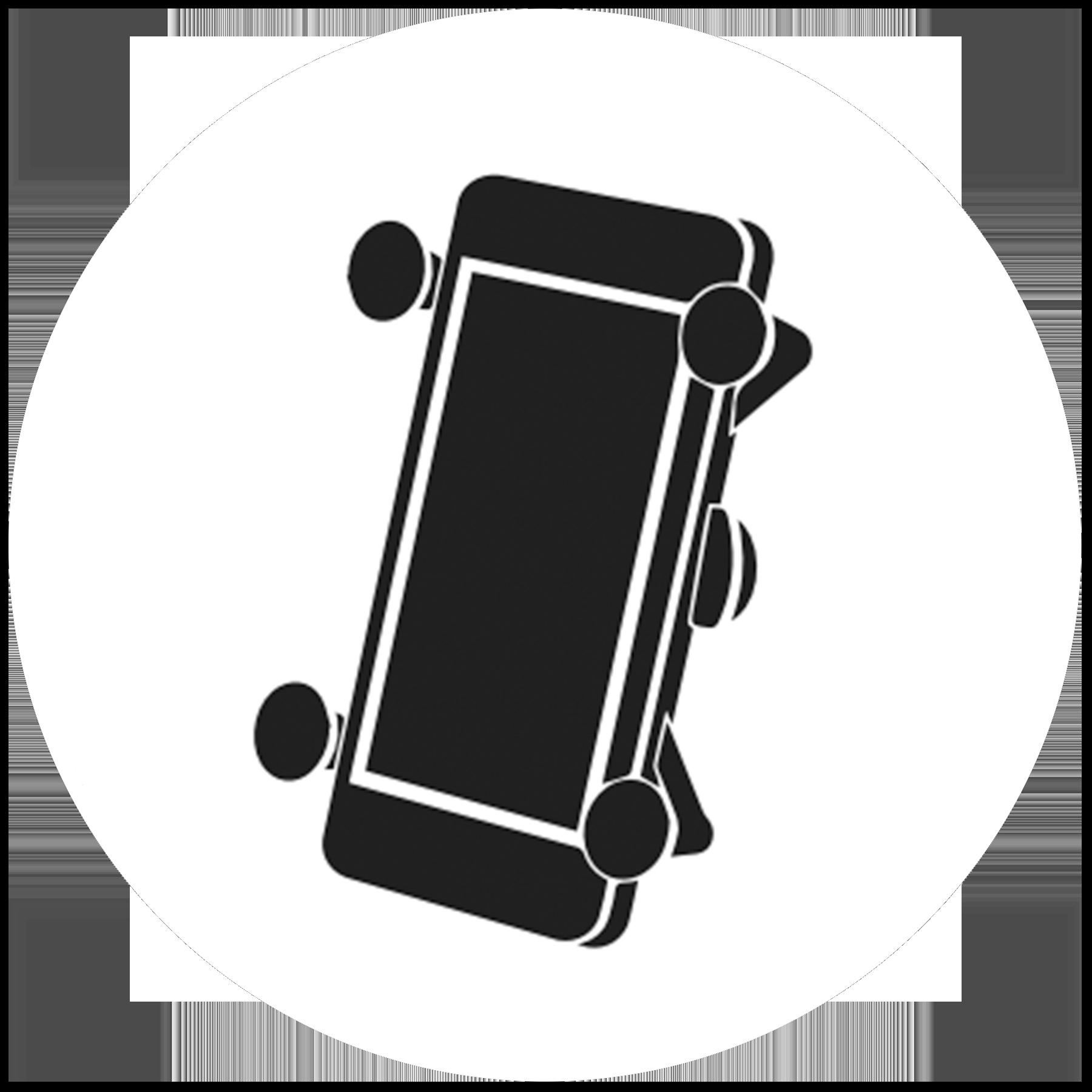 X Grip Phone Holder RAM Pau Hana iPhone