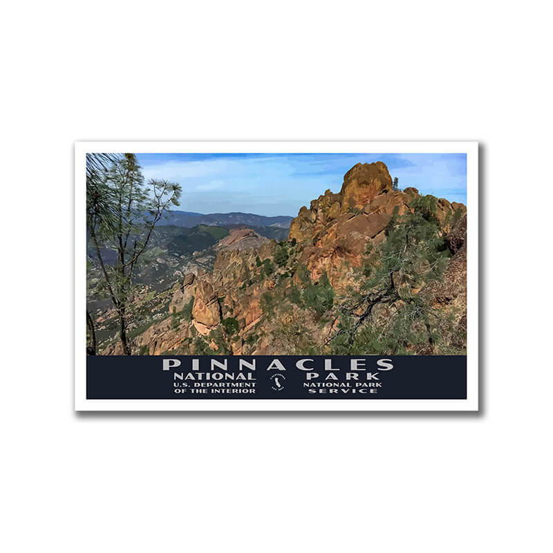 Pinnacles National Park Poster