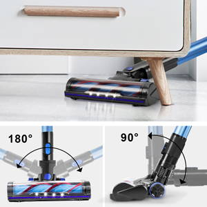 APOSEN Cordless Vacuum Cleaner H250 Blue is all-round cleaning