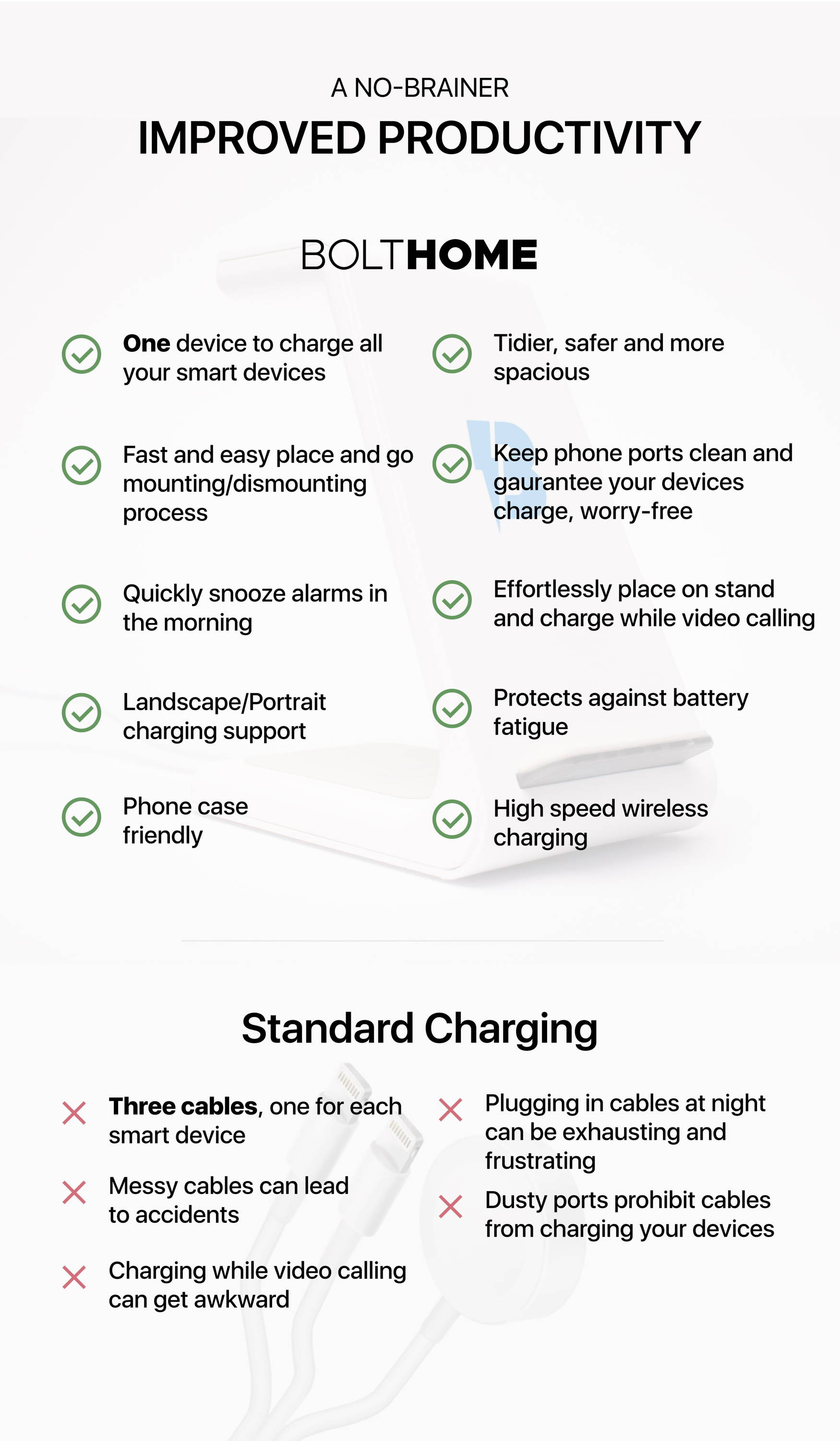 wireless charging comparison cable charging