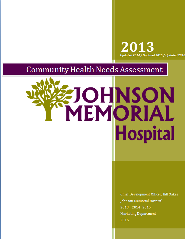 Community Health Needs Assessment Cover
