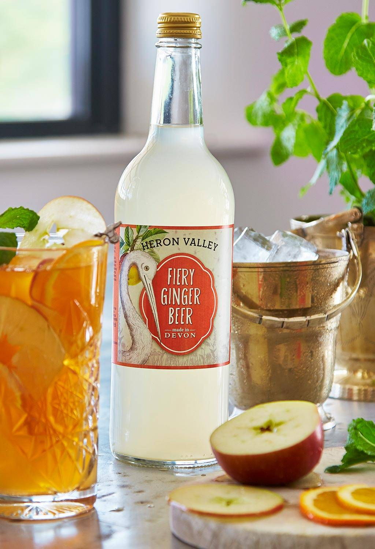 ginger beer Pimms cocktail