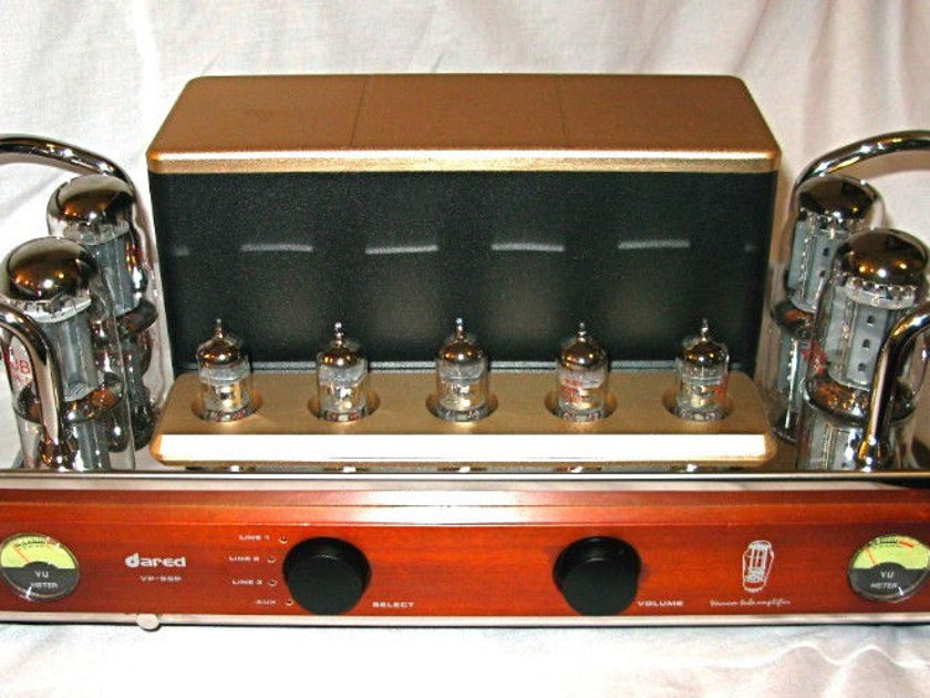 Dared VP-80 2016 New int tube amp w phono stage, sub output, 45wpc, best