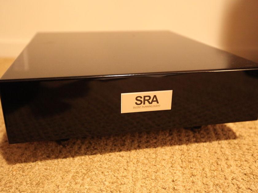 SRA SILENT RUNNING AUDIO OHIO CLASS XL AMP STAND BLACK BEAUTY