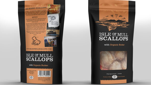 Isle of Mull Scallops