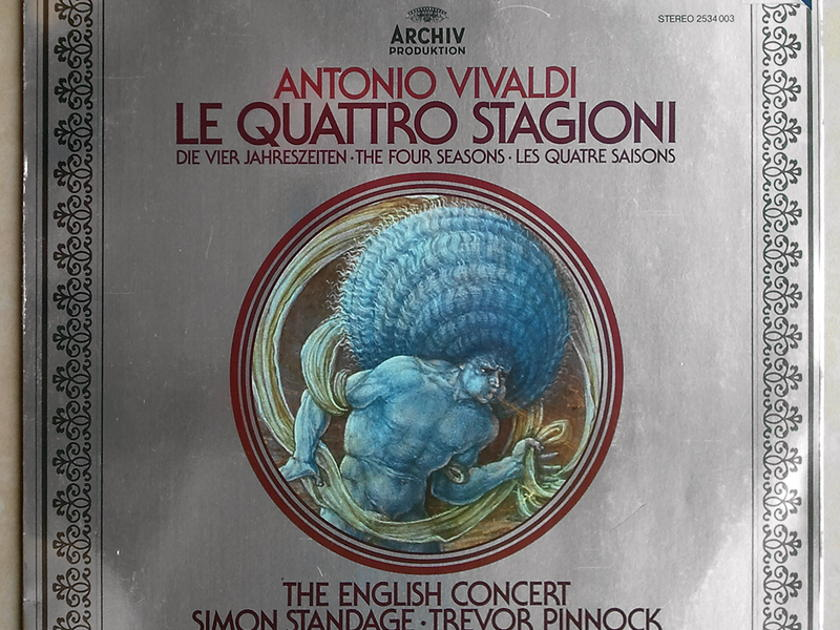 Archiv/Simon Standage/Vivaldi - The Four Seasons / NM