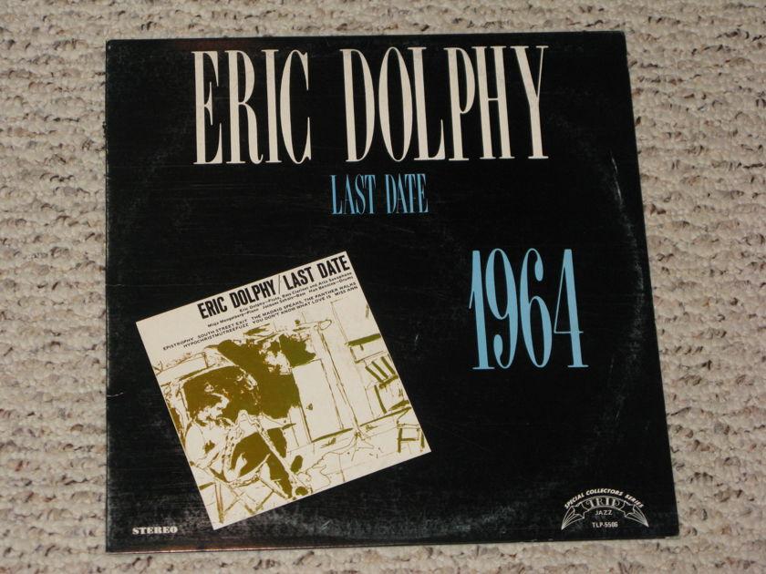 Eric Dolphy - Last Date Trip Jazz 1974 edition PRICE BREAK