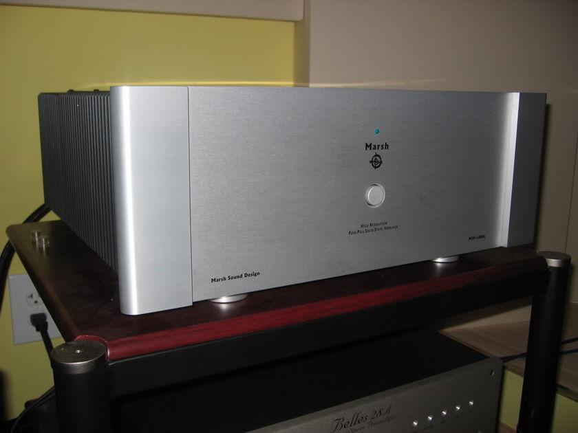 Marsh Sound Design  A400s 2 Channel XLR Biwire Amplifier