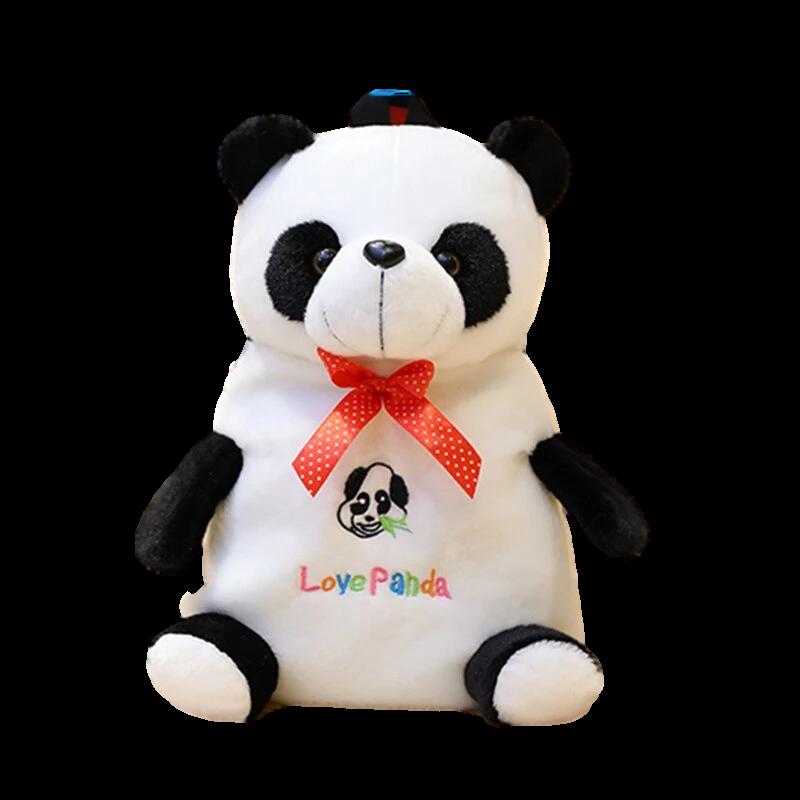 doudou panda bebe colore