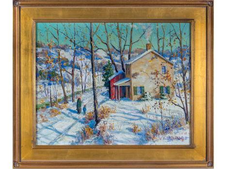 Christopher Willett, Along the Neshaminy Creek, Jamison, PA