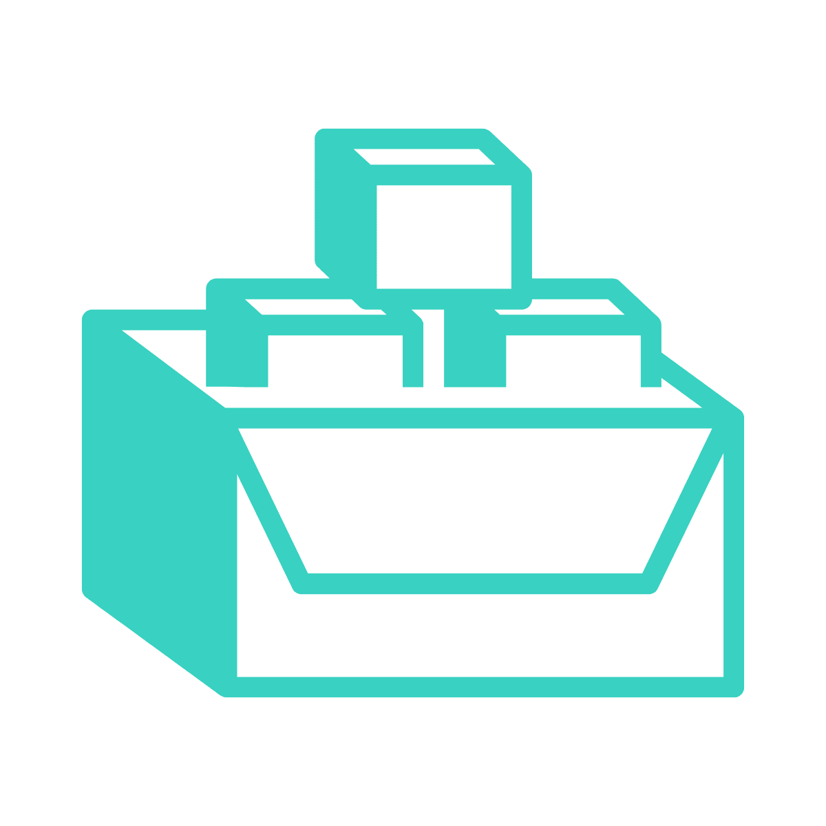 Unlimited revisions teal icon