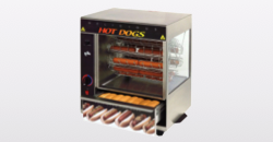 commercial hot dog cooker