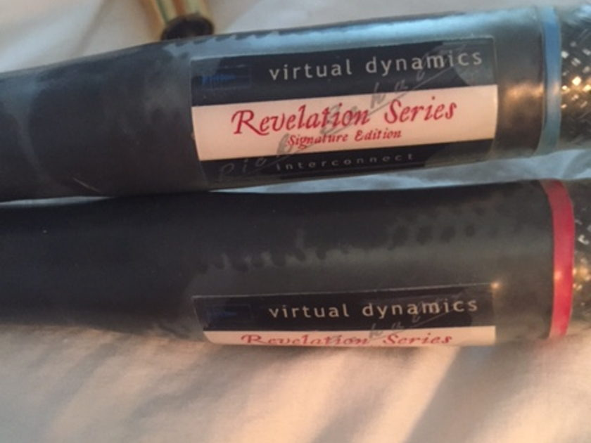 Virtual Dynamics Revelation Signature Series 1m RCA Interconnect