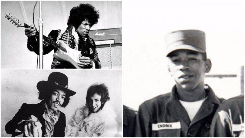 Jimi hendrix in the US Army And Performing