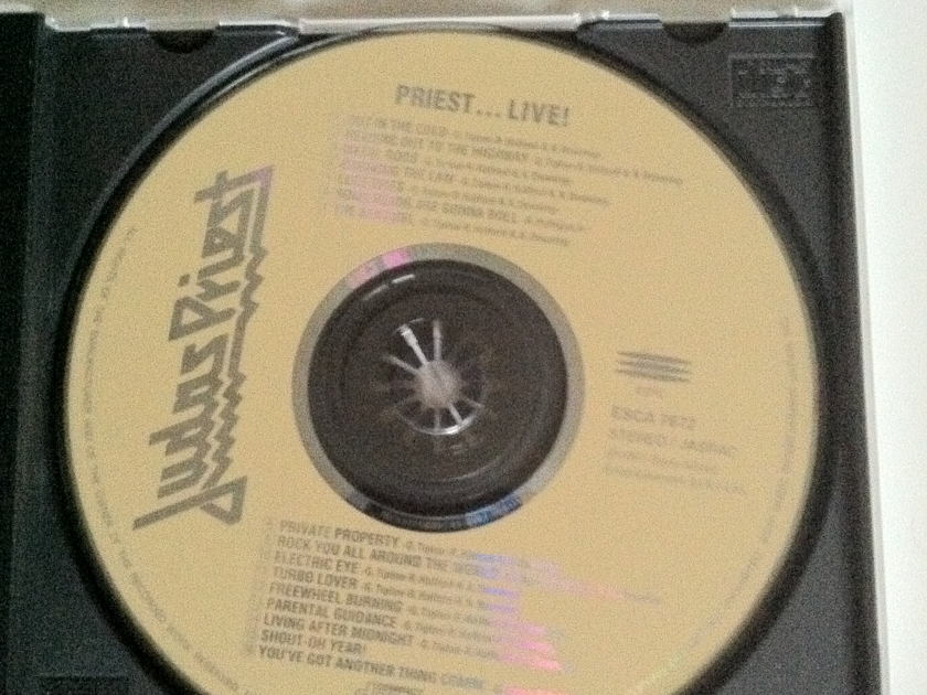 judas priest - live japan cd