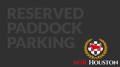 SCCA Reserved Paddock Parking