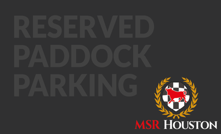 CMRA Reserved Paddock Parking