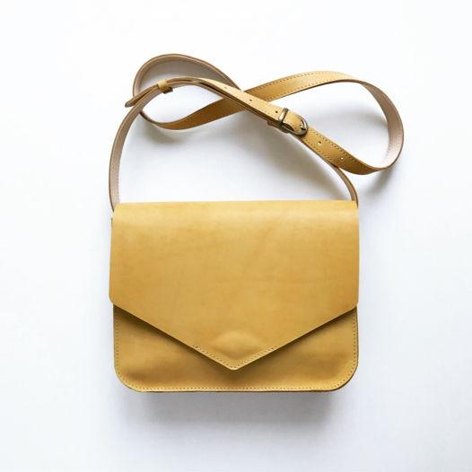 Кожаная сумка Envelope Wheat Field
