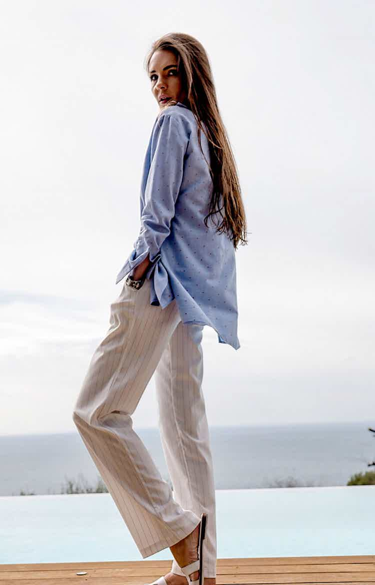 White Summer COCO pants