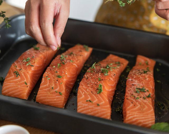 Wild caught fish is great for keto.