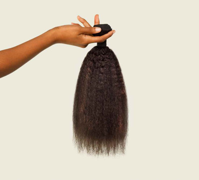 Mayvenn Brazilian Kinky Straight Leave Out Install