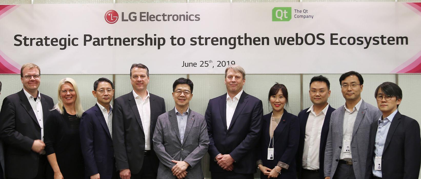 Az LG kibővíti partneri kapcsolatát a Qt-vel a webOS-t futtató beágyazott rendszerek terén